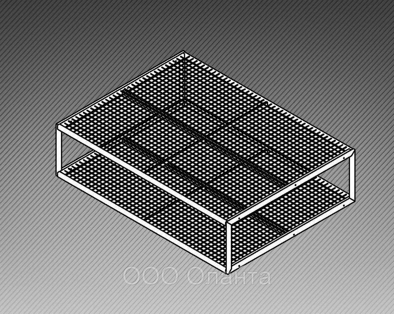 Стол-подиум для ковров (2300х1700х600 мм) арт. СК2