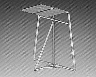 Стойка-экспозитор для ковров на 20 мест (2000х1500х2000 мм) арт. СК3