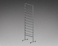 Стеллаж под обои односторонний на 12 рулонов (L=530 мм) арт. СО530/12