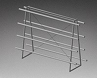 Стеллаж под пленку двухсторонний на 8 рулонов (L=2000 мм) арт. СПЭ8