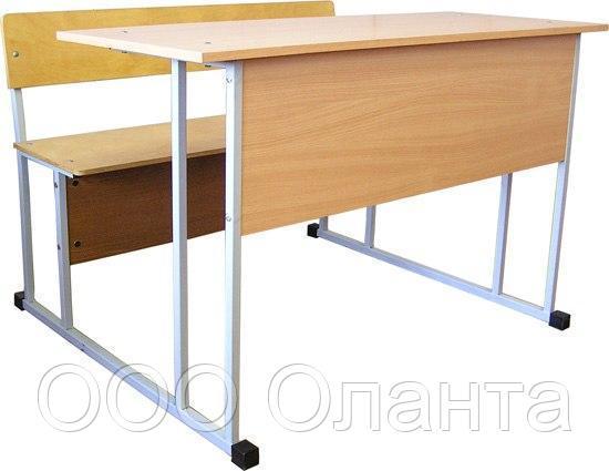 Стол-моноблок ученический двухместный арт. Пт-2