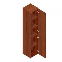 Шкаф для документов офисный (402х418х1960) с дверками, фото 1