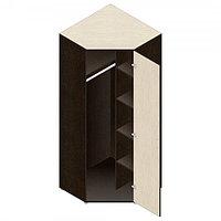 Шкаф гардеробный для офиса (798х798х1960) угловой