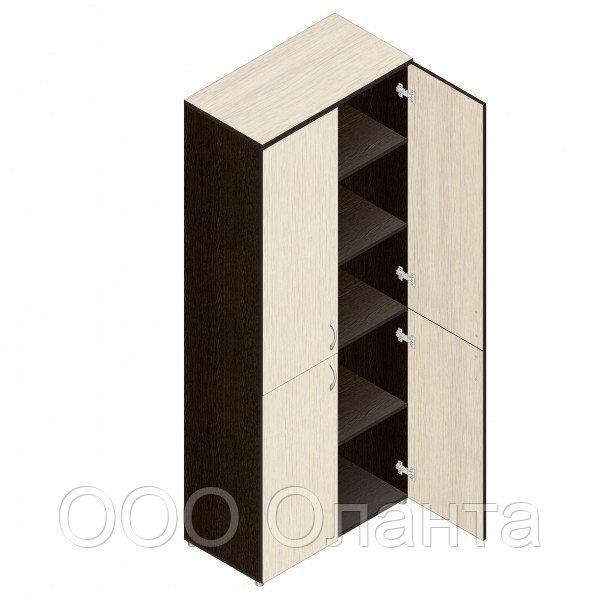 Шкаф для документов офисный (798х418х1960) с дверками