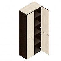 Шкаф для документов офисный (798х418х1960) с дверками, фото 1