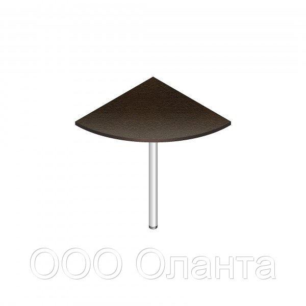 Сегмент угловой к офисному столу (680х680х750) 90 градусов