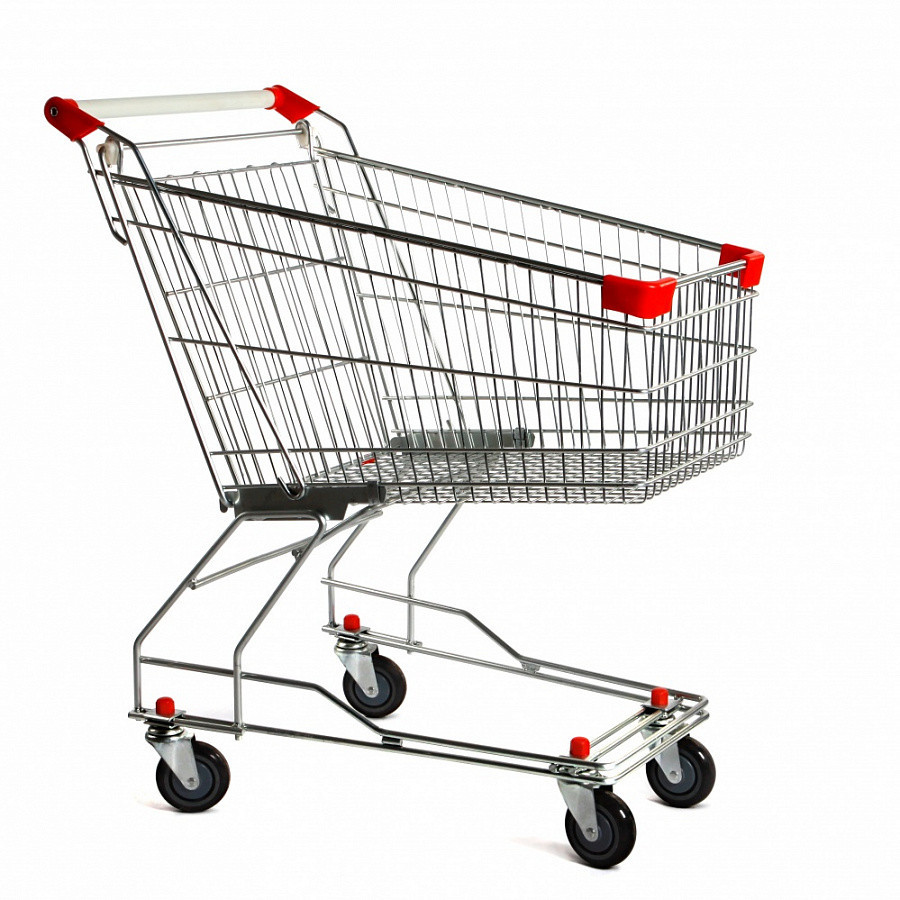 Тележка покупательская для магазина 150 литров арт. TPSA150