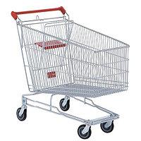 Тележка покупательская для магазина 180 литров с детским сиденьем арт. TPSA180-S