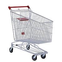Тележка покупательская для магазина 240 литров с детским сиденьем и нижним поддоном арт. TPSA240-SP