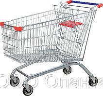 Тележка покупательская для магазина 240 литров с детским сиденьем арт. TPSE240-S