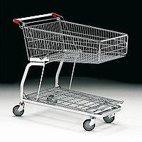 Тележка покупательская для магазина усиленная 125 литров арт. TPSU125-P