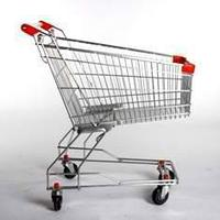 Тележка покупательская траволаторная для магазина 90 литров арт. TPMAT90, фото 1