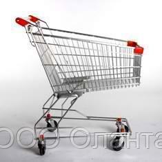Тележка покупательская траволаторная для магазина 100 литров арт. TPMAT100