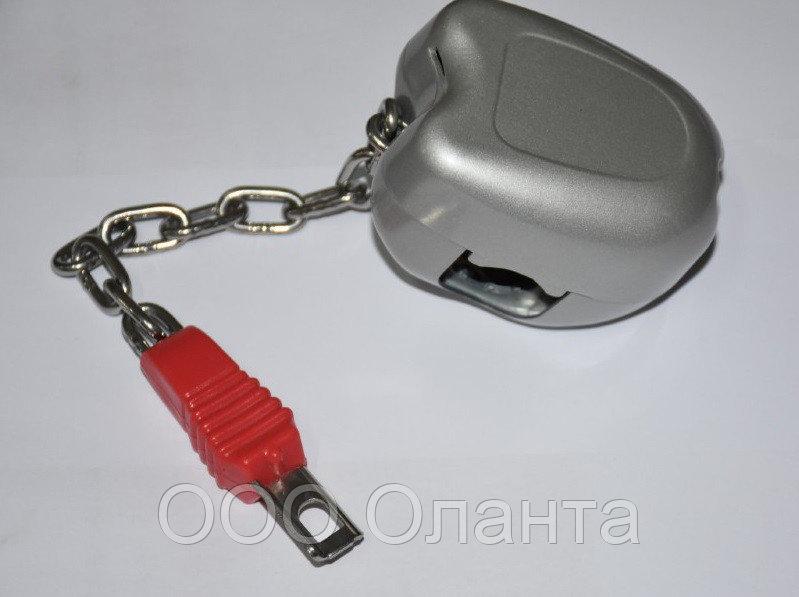 Замок-монетоприемник металлический для тележки покупательской арт. TPZM