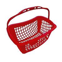 Корзина покупательская для магазина самообслуживания пластик 27 литров арт. KPP27.2-K