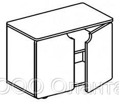 Тумба-стол универсальный для детского сада (800х400х620) арт. СТМ12