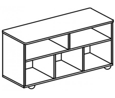 Тумба-стол универсальный для детского сада (1000х400х620) арт. СТМ15