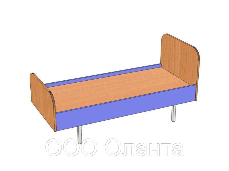 Кровать детская металлокаркас (1600х640х510)