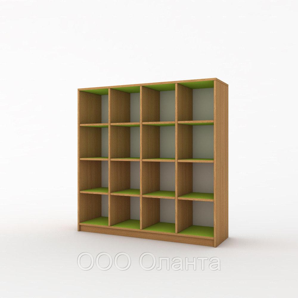 Шкаф для горшков 16 ячеек (1080х320х1010) с покрытием