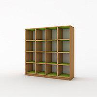 Шкаф для горшков 16 ячеек (1080х320х1010) с покрытием, фото 1