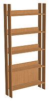 Шкаф стеллажный библиотечный (850х250х1900)