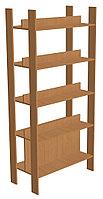 Шкаф стеллажный библиотечный (850х450х1900) двухсторонний