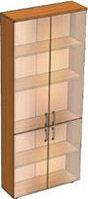 Витрина для книг (800х250х2000) стеклянные двери
