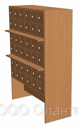 Шкаф каталожный библиотечный (1210х500х1500)