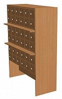 Шкаф каталожный библиотечный 36 ящиков (1210х500х1500 мм) ЛДСП арт. ШКБ3