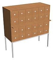 Шкаф каталожный библиотечный (1210х500х1270) металлокаркас, фото 1