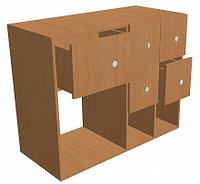 Шкаф для формуляров библиотечный (1000х450х800), фото 1