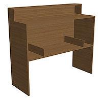 Стол барьер выдачи и хранения книг библиотечный (1150х420х1102 мм) ЛДСП арт. СББ2
