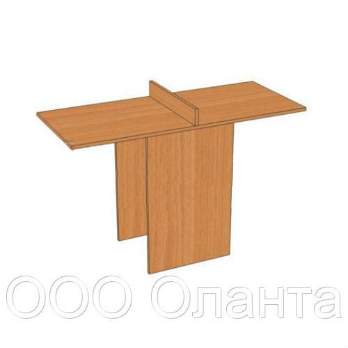 Стол для читателя (1200х500х750) с перегородкой