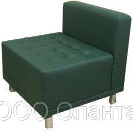 Кресло без подлокотников (750х750х750) экокожа