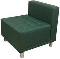 Кресло без подлокотников (750х750х750) экокожа, фото 1