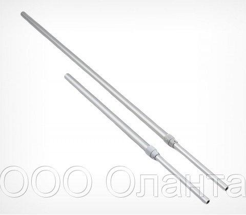 Алюминиевая телескопическая трубка 350-550 мм (d=9-12 мм)
