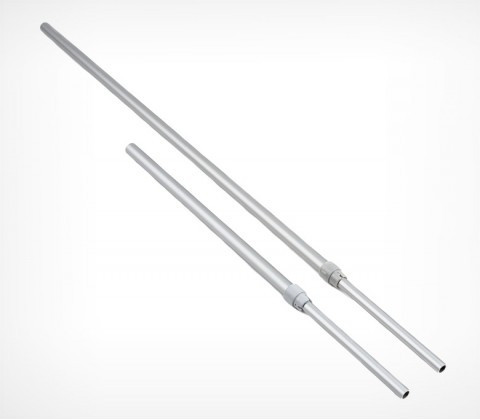 Алюминиевая телескопическая трубка 1100-1400 мм (d=9-12 мм)