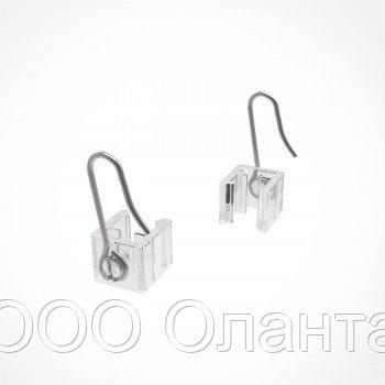 Крючок металлический с подвижным основанием для подвешивания рамки