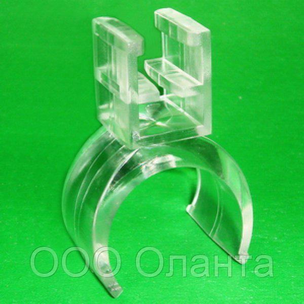Держатель-клипса для крепления рамки на трубу (d=18 мм)