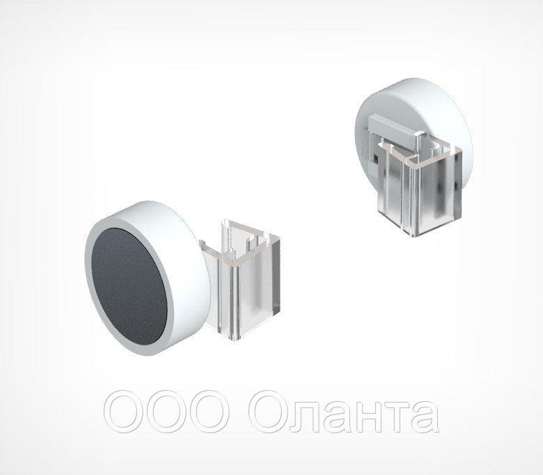 Держатель рамки магнитный параллельно поверхности (круглый)