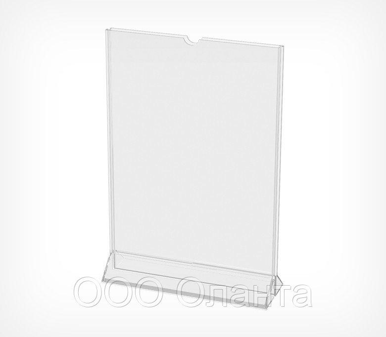 Подставка под меню с верхней загрузкой MENU HOLDER формат А5 арт.520028
