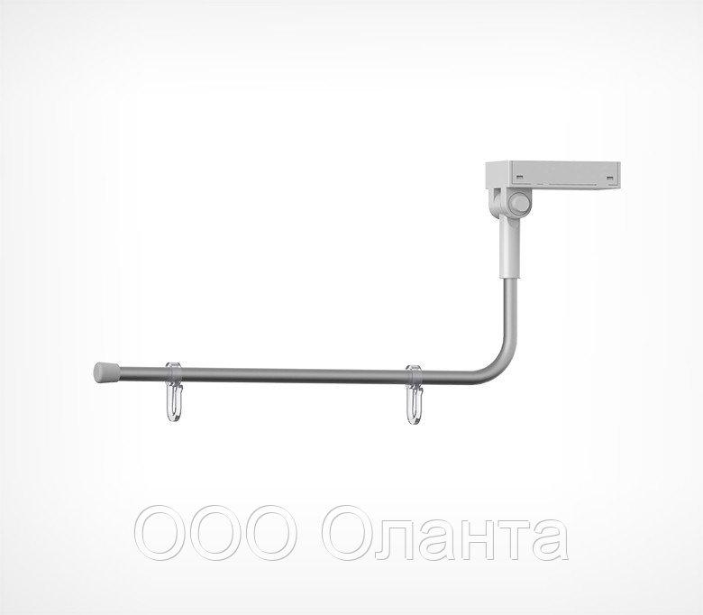 Магнитный держатель вывески на крючках с изогнутой трубкой (L=250 мм) MAG-SW-TUBE-L арт.800001