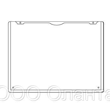 Карман горизонтальный А6 подвесной с отверстиями PH арт.730006