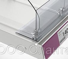 Ограничитель передний с Т-держателем на вспененном скотче (L=1250 мм/H=80 мм) L-RAIL80 арт.771001