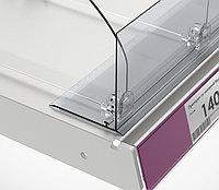 Ограничитель передний с Т-держателем на вспененном скотче (L=1330 мм/H=80 мм) L-RAIL80 арт.771001, фото 1