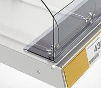 Ограничитель передний с Т-держателем на магнитной ленте (L=1250 мм/H=80 мм) L-RAIL80-TM арт.771002, фото 1