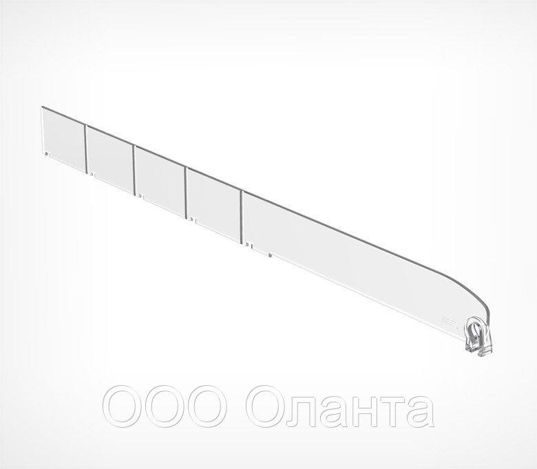 Пластиковый обламывающийся разделитель без ограничителя (L=185-385 мм/H=30 мм) DIV30-B арт.771030