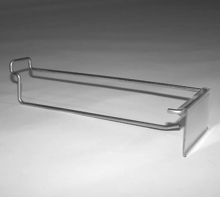 Крючок одинарный с держателем ценника (L-250 мм) цинк арт.ЕК325/250