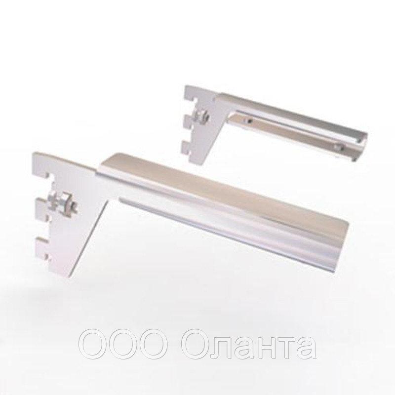 Комплект кронштейнов под стеклянную полку с фиксаторами Vertical (L-150 мм) хром арт. 259М34/260М35