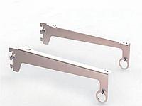 Комплект кронштейнов под полку Vertical (L-300 мм) хром арт. M772, фото 1